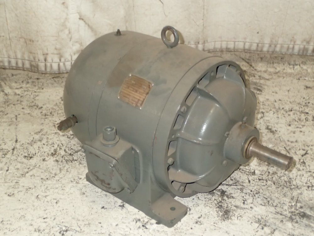 Used general electric motor hgr industrial surplus for Used industrial electric motors