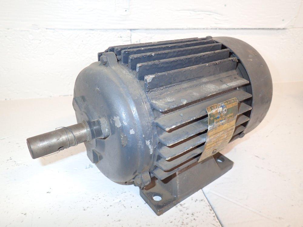 Used brook crompyon motor hgr industrial surplus for Furnace brook motors inventory