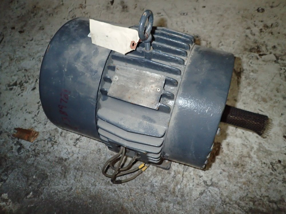 Used general electric motor hgr industrial surplus for Surplus electric motors sale