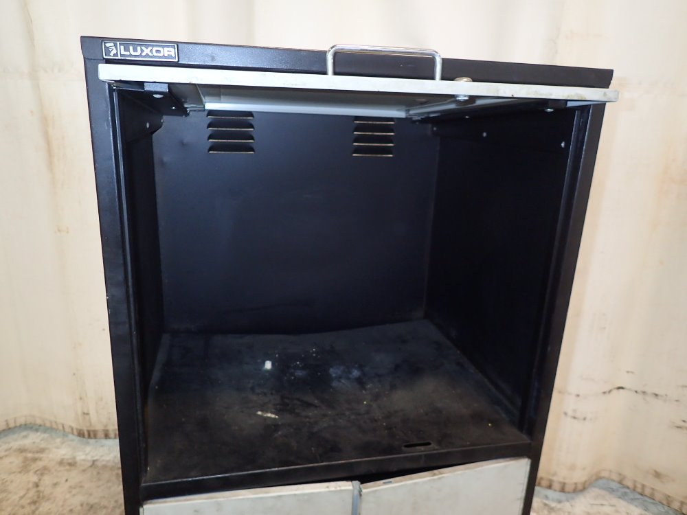 Portable Computer Cabinets : Used luxor portable computer cabinet hgr industrial surplus