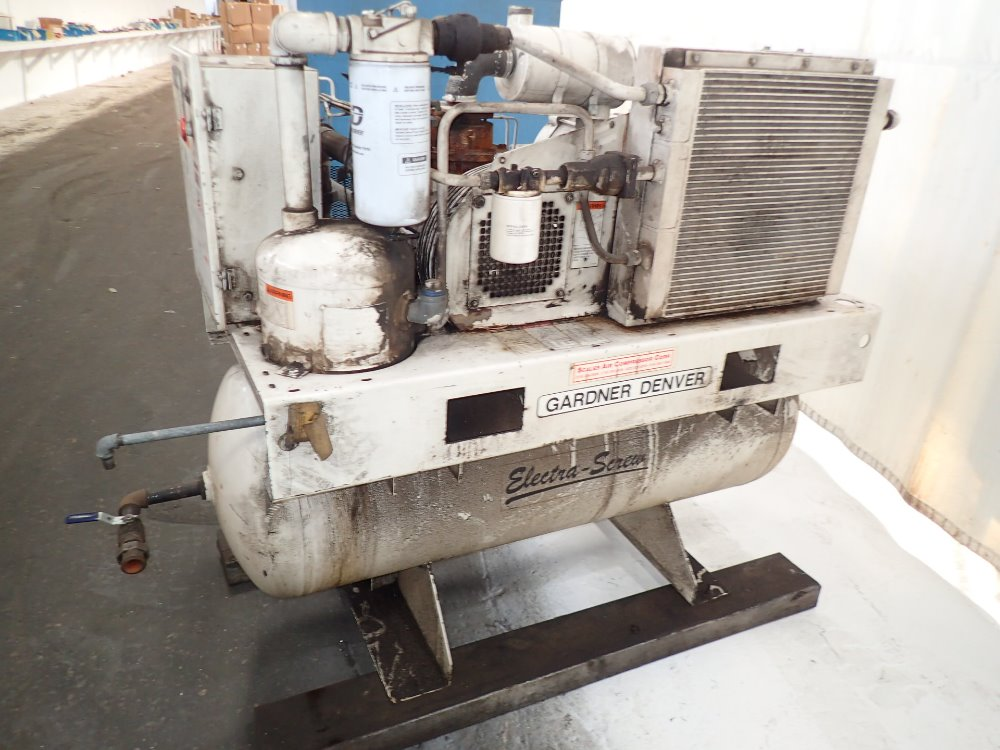 Gardner denver air Compressor parts electra saver ii manual