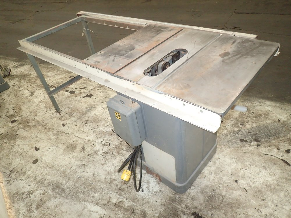 Used Rockwell Delta Table Saw Hgr Industrial Surplus