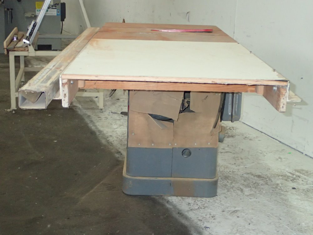 Used Rockwell Unisaw Table Saw Hgr Industrial Surplus