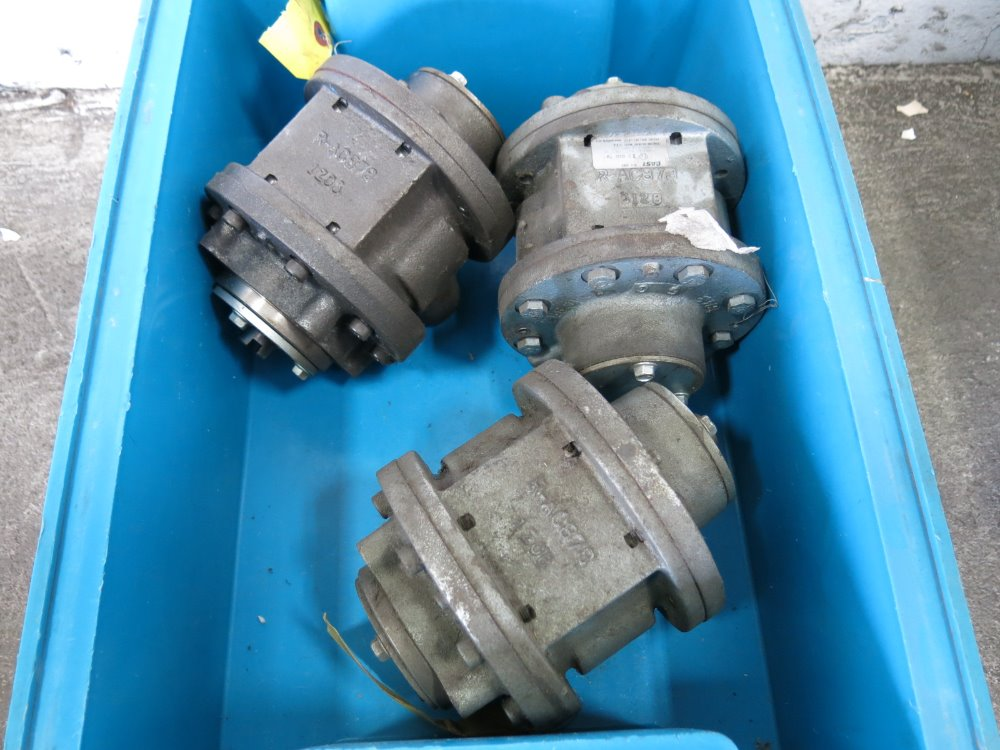 Used Gast Air Powered Motors Hgr Industrial Surplus