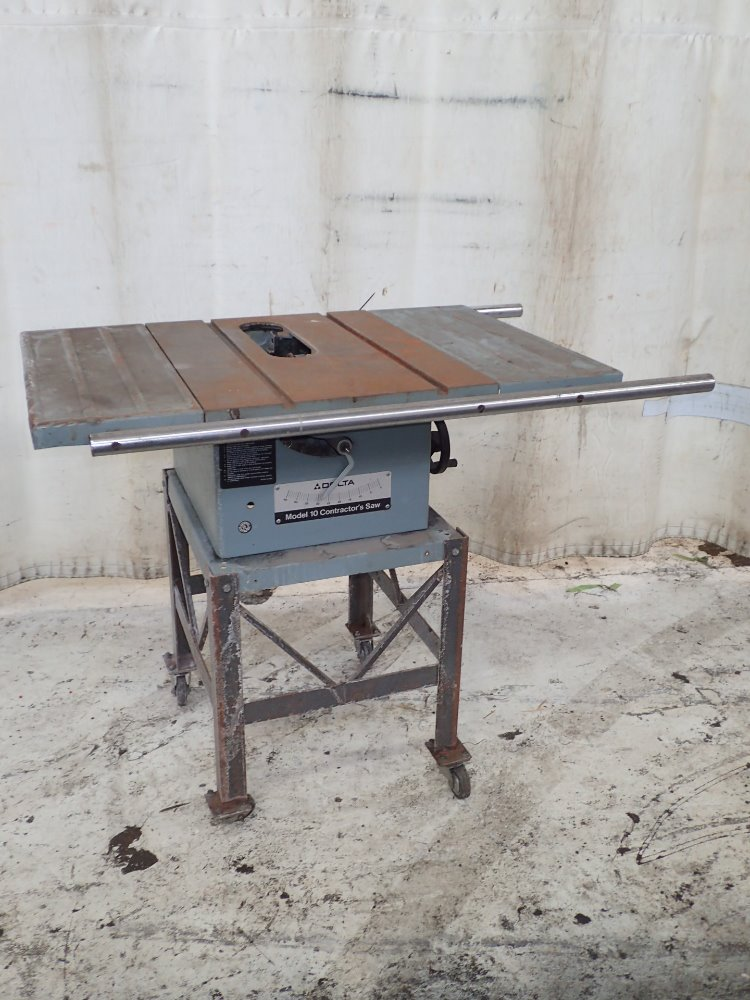 Used Delta Table Saw Hgr Industrial Surplus