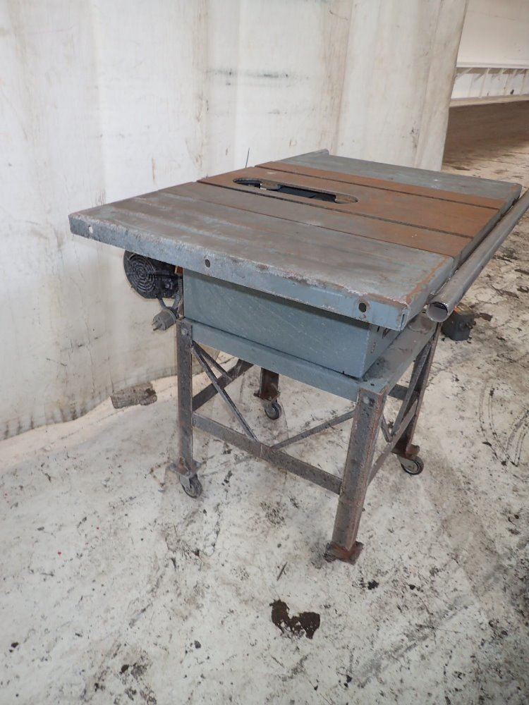 Used delta table saw hgr industrial surplus Used table saw