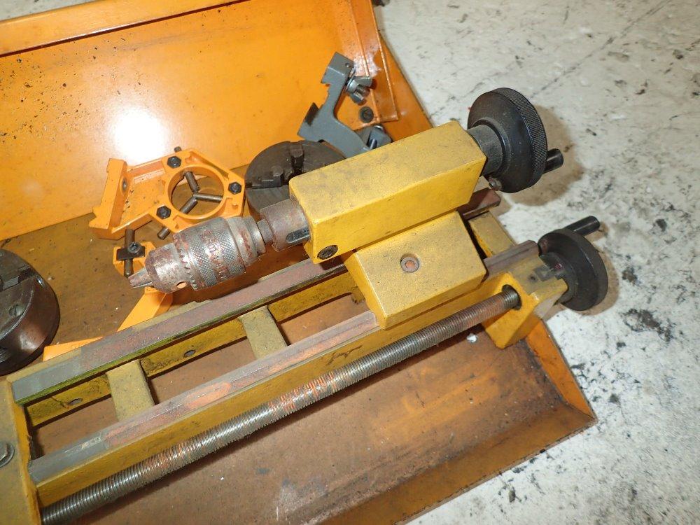 Used Emco Bench Lathe Hgr Industrial Surplus