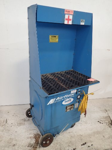 Portable Downdraft Bench : Used airflow systems portable downdraft table hgr