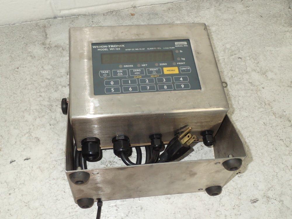 weigh tronix wi 125 manual