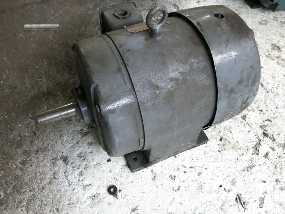 Used Ge Motor Hgr Industrial Surplus