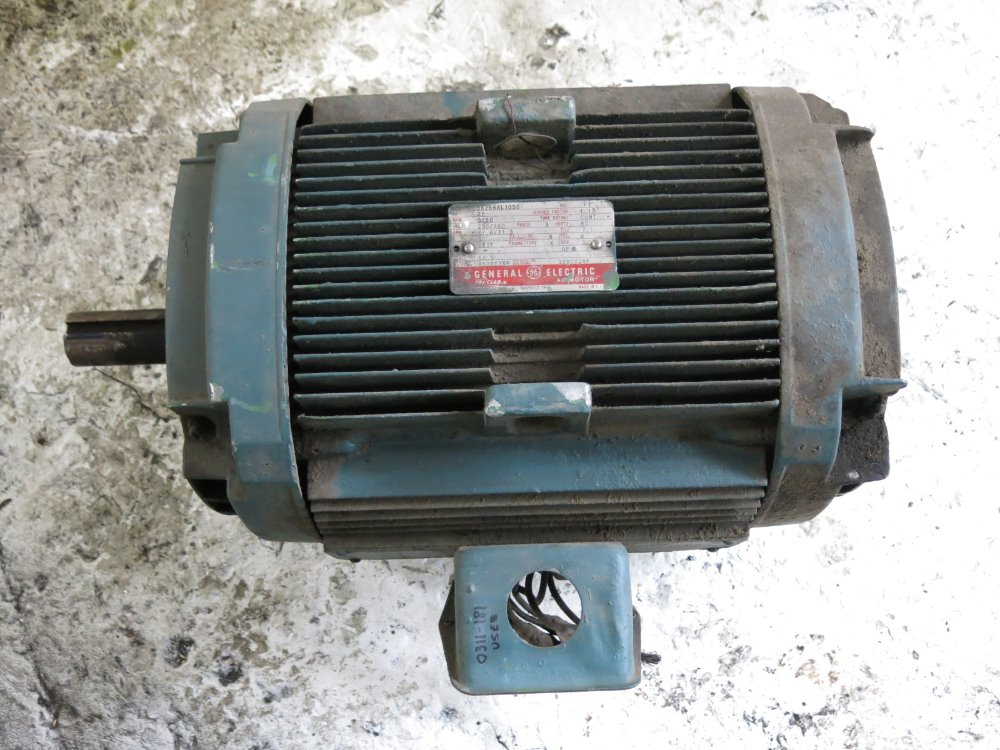 Used ge motor hgr industrial surplus for Ge commercial motors 5kcp39fg