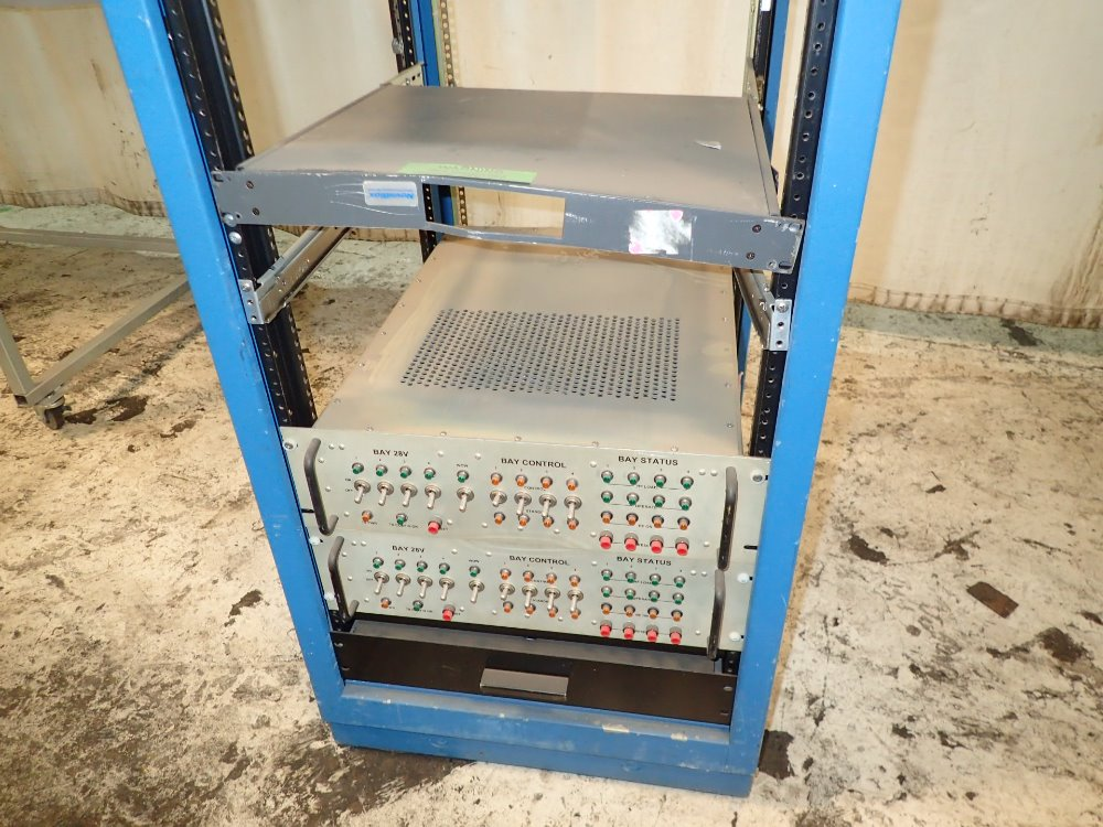 Portable Computer Cabinets : Used portable computer cabinet control center hgr