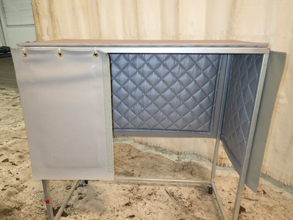 Portable Enclosures Product : Used portable heating enclosure hgr industrial surplus