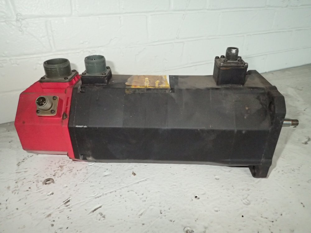 Used fanuc servo motor hgr industrial surplus for Used electric motor shop equipment for sale