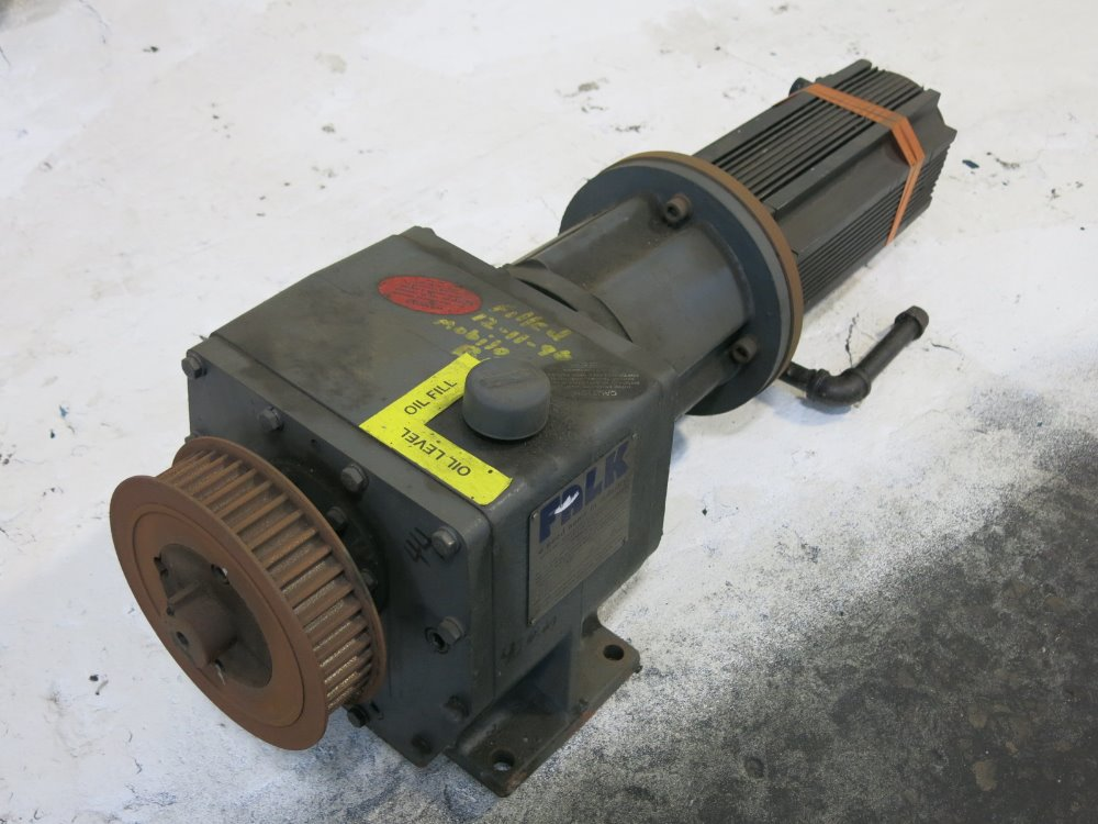 Used reliance servo gear drive hgr industrial surplus for Servo motors and drives inc