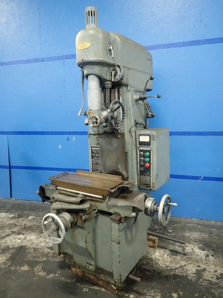 Used Moore Jig Borer Hgr Industrial Surplus