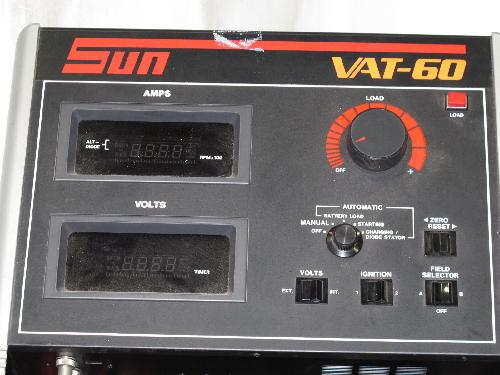 Sun Battery Tester : Sun vat battery tester ebay