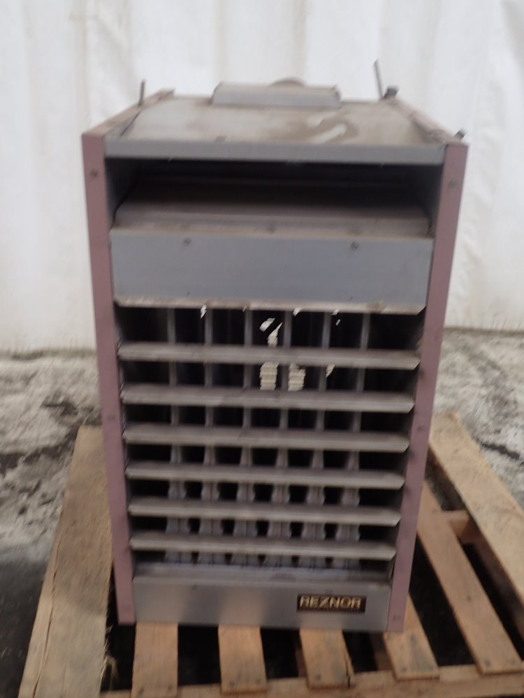 Used Reznor Natural Gas Heater Hgr Industrial Surplus
