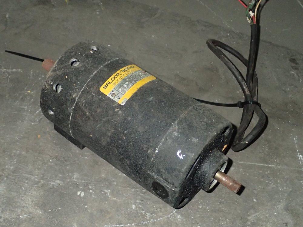 Used Baldor Boehm Dc Motor Hgr Industrial Surplus