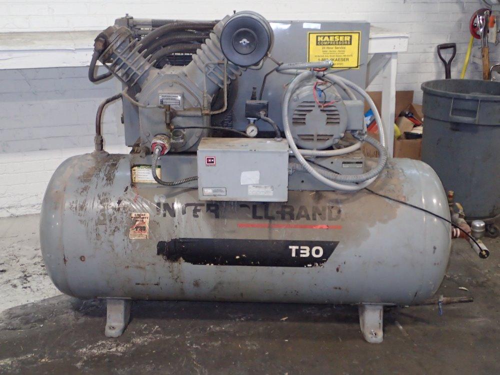 Ingersoll Rand T30  2545e10 Air Compressor 10 Hp