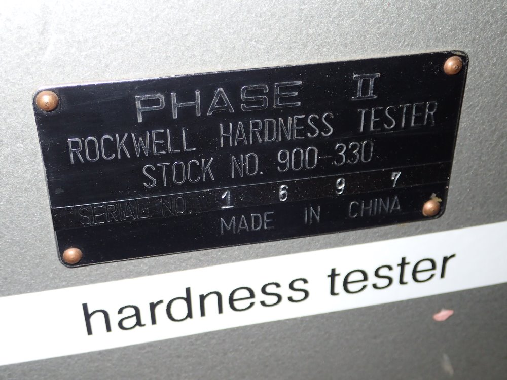 phase ii hardness tester manual