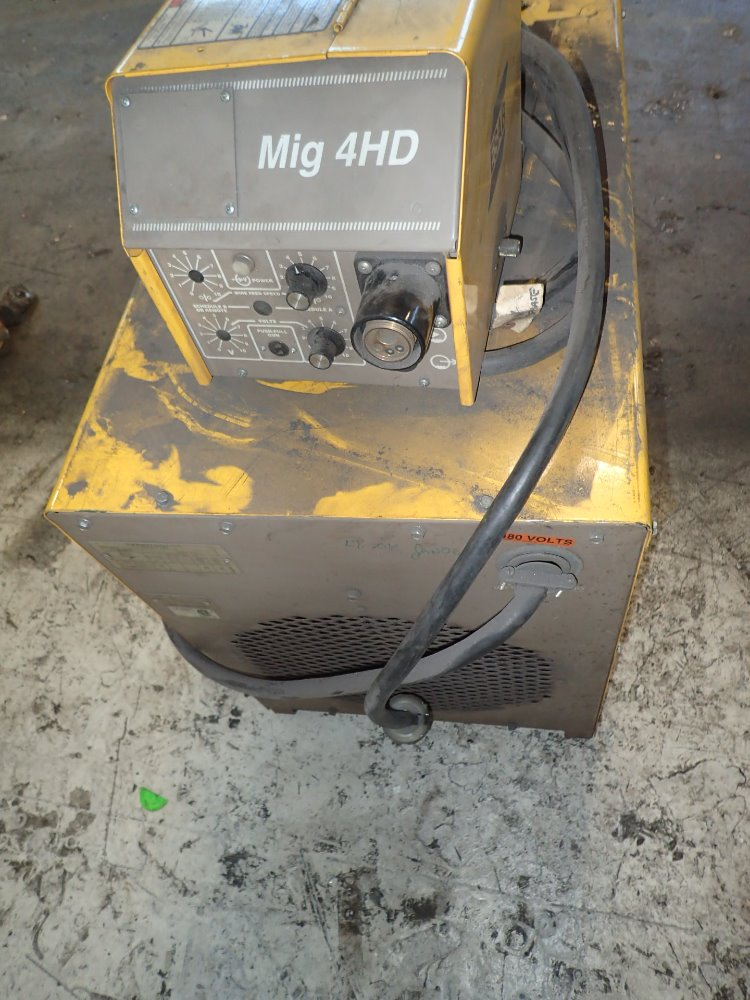 esab 353 cv welder 34v    450 amp 02171490001