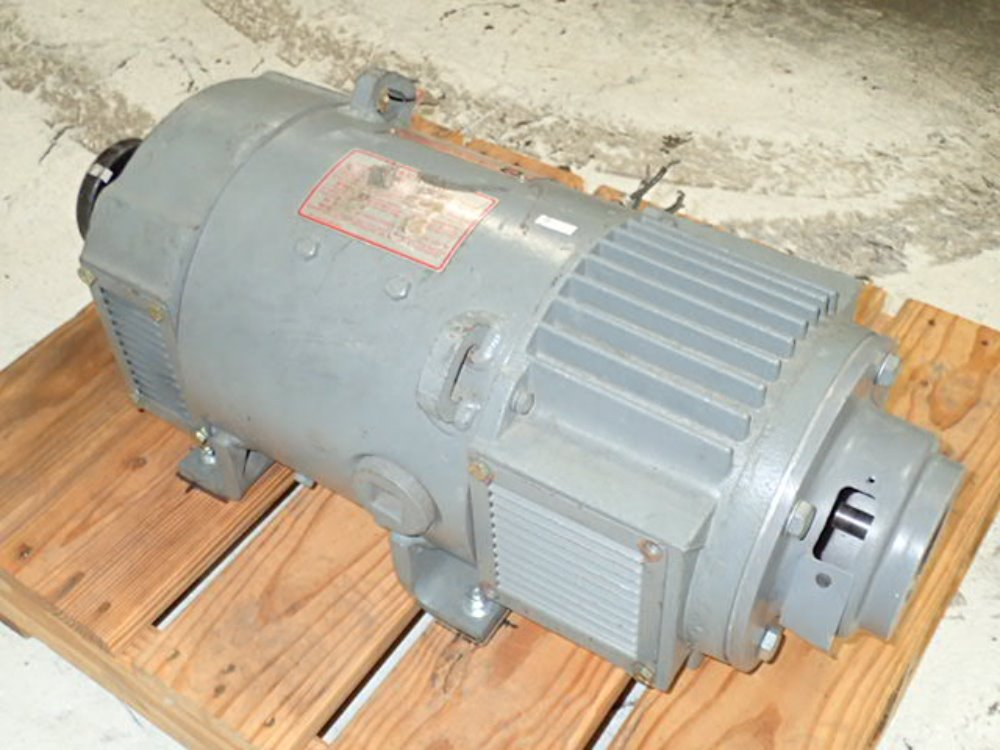 Used cleveland machine control dc motor hgr industrial Cleveland motors inc