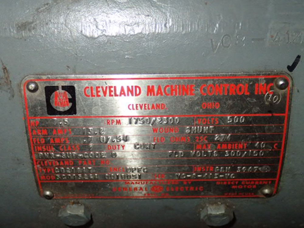 cleveland machine