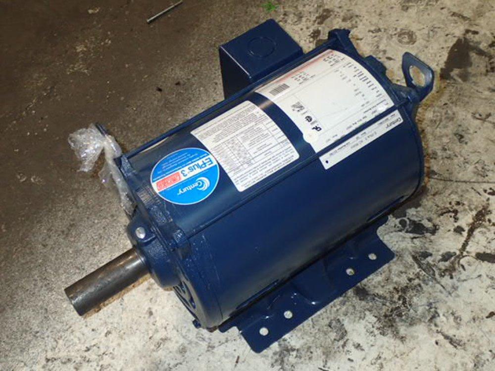 Used century motor hgr industrial surplus for Century electric motor serial number lookup