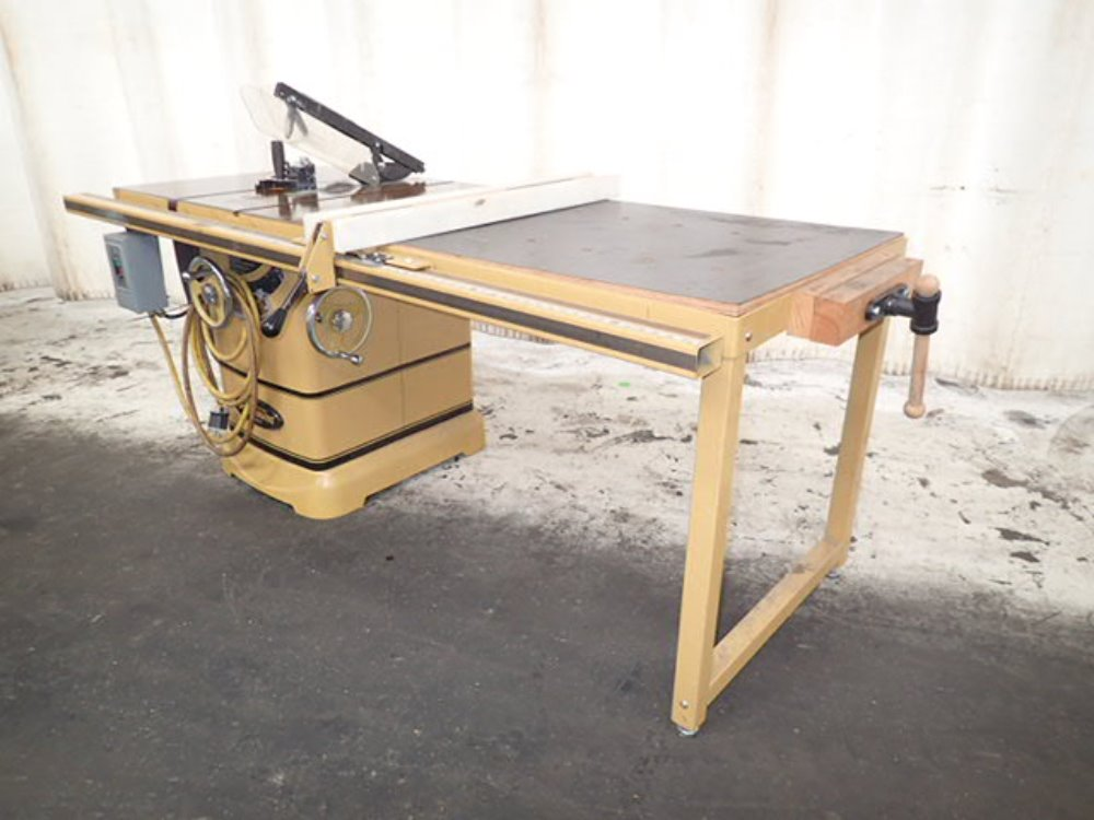 Used powermatic table saw used powermatic table saw hgr industrial surplus Used table saw