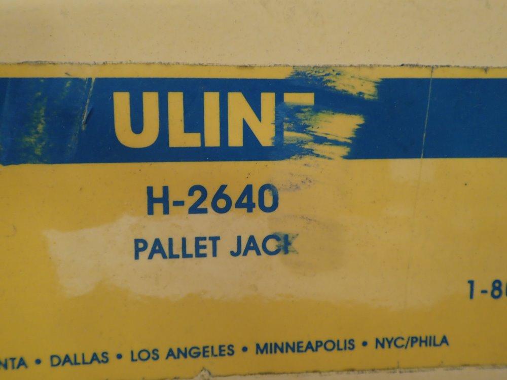 Image Result For Uline Pallet Jack