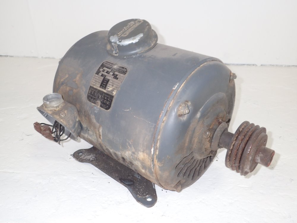 Used Lincoln Electric Motor Hgr Industrial Surplus