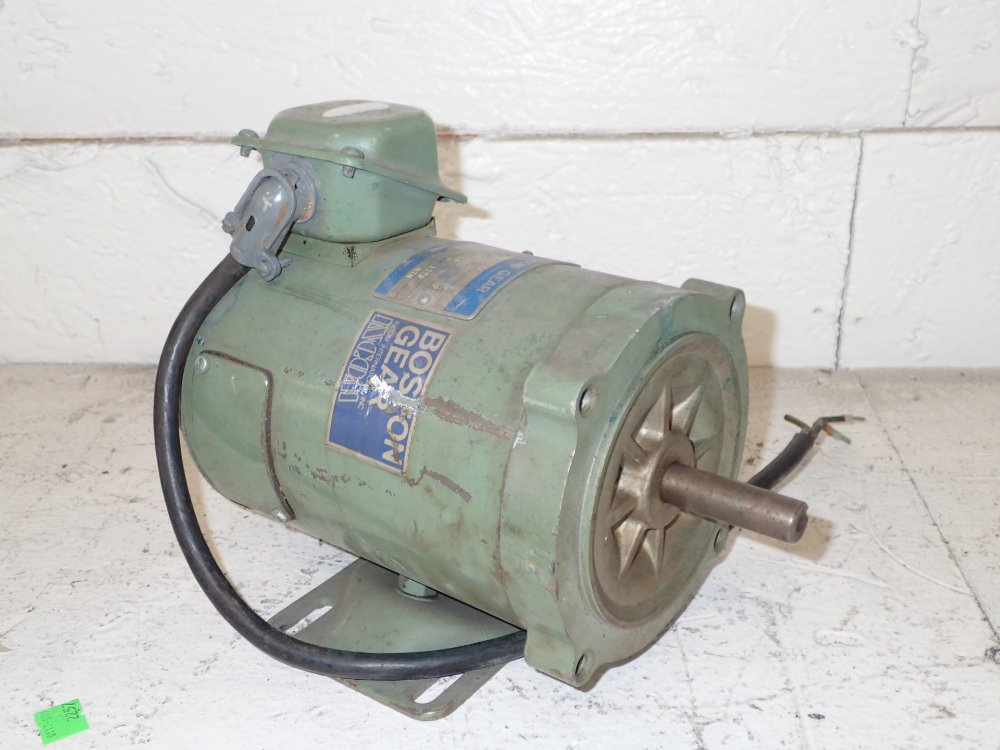 Used Boston Gear Dc Motor Hgr Industrial Surplus