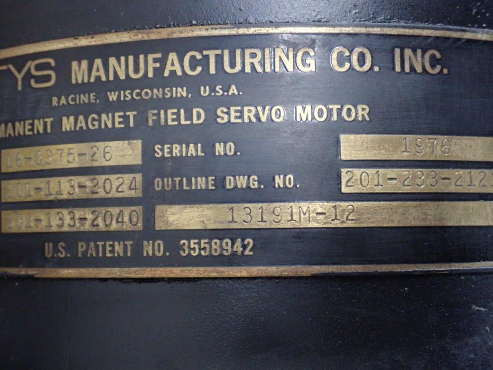 Gettys Manufacturing Servo Motor