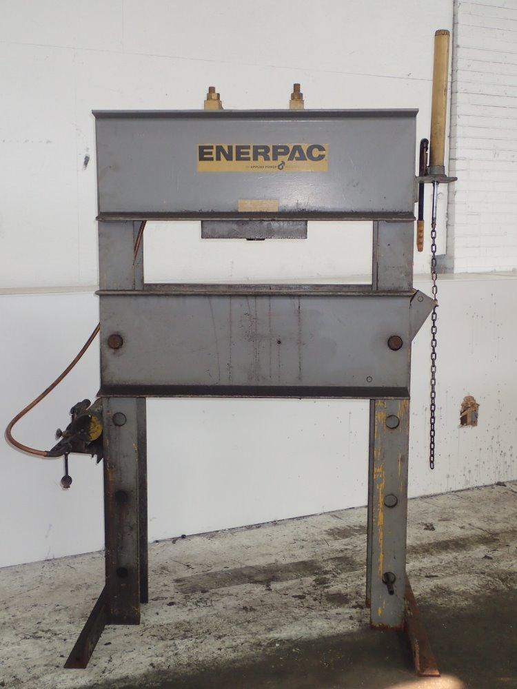 Enerpac Hydraulic H Frame Press 75 Ton Ebay