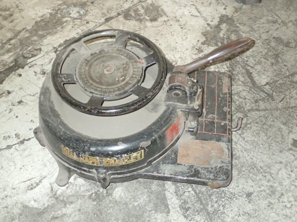 used stencil machine