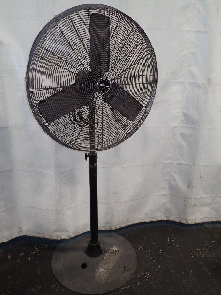 From Smc Stand Fan : Used smc electric pedestal fan hgr industrial surplus