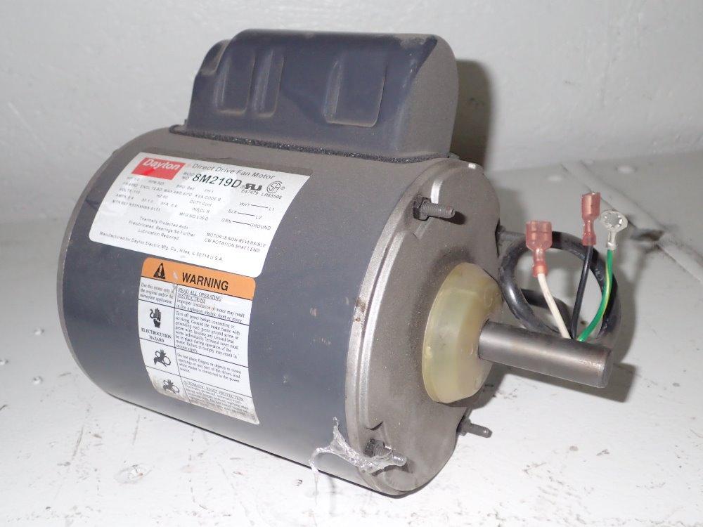 Used dayton motor hgr industrial surplus for Who makes dayton motors