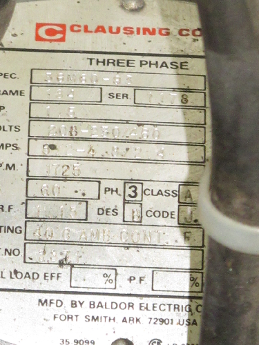 clausing drill press model 2277 manual lawn
