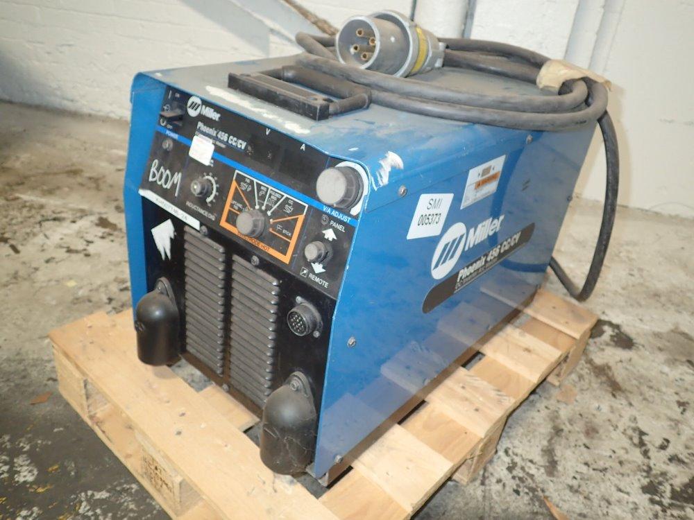 miller phoenix 456 cc  cv welder 450 amp 06160050015