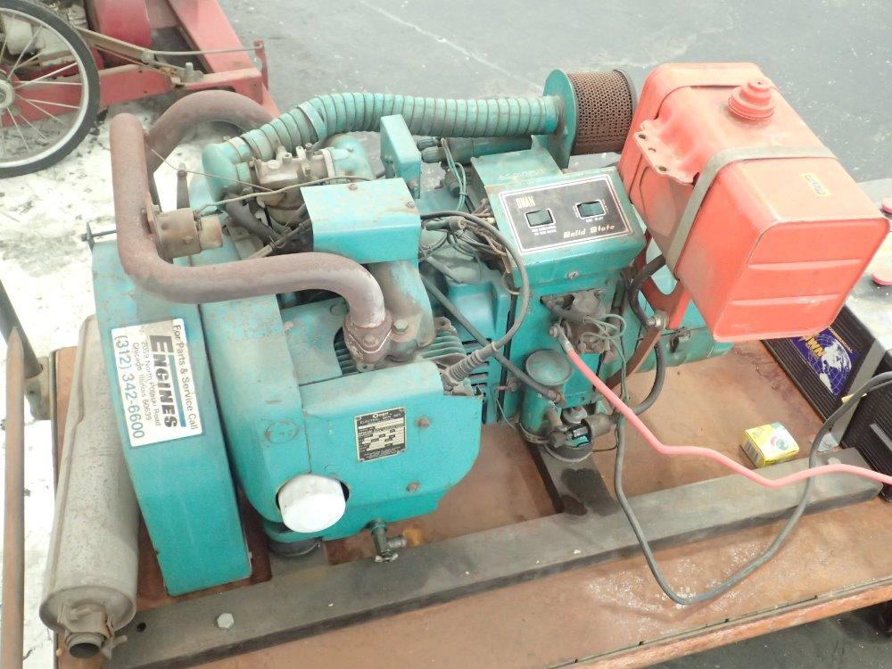 Onan 6 5nh 3cr 12012d Generator 6 5 Kw 06160730012 Ebay