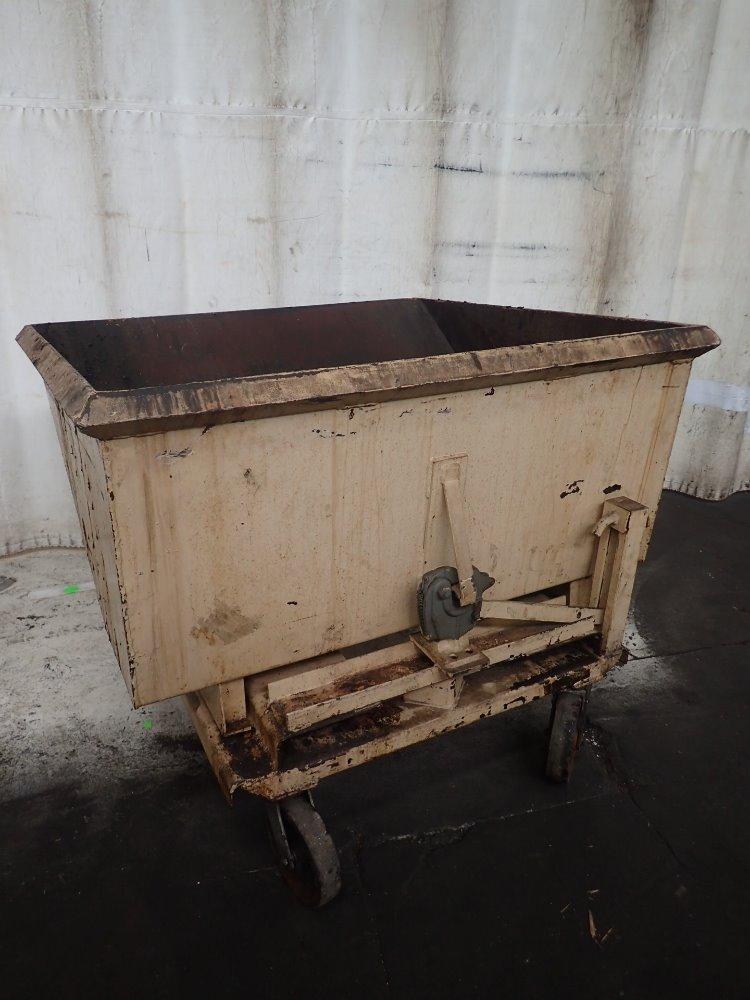 Portable Self Dumping Hoppers : Portable self dumping hopper galbreath hoe