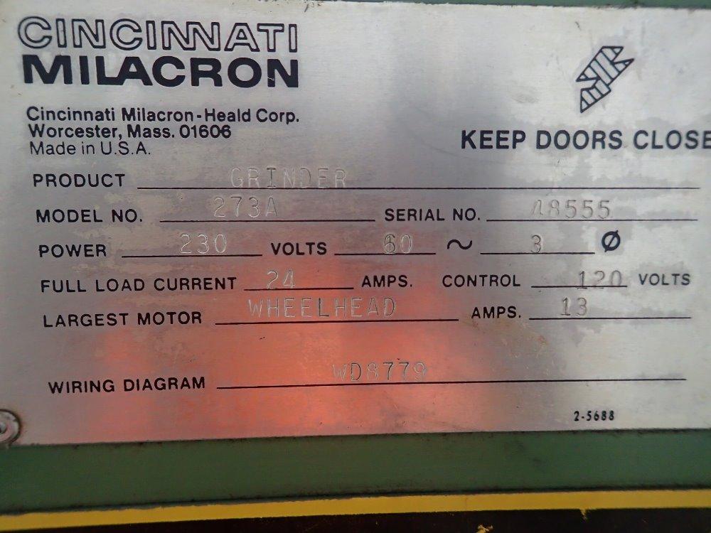 used heald cincinnati milacron grinder hgr industrial surplus rh hgrinc com Cincinnati Milacron Bankruptcy Cincinnati Milacron Bankruptcy