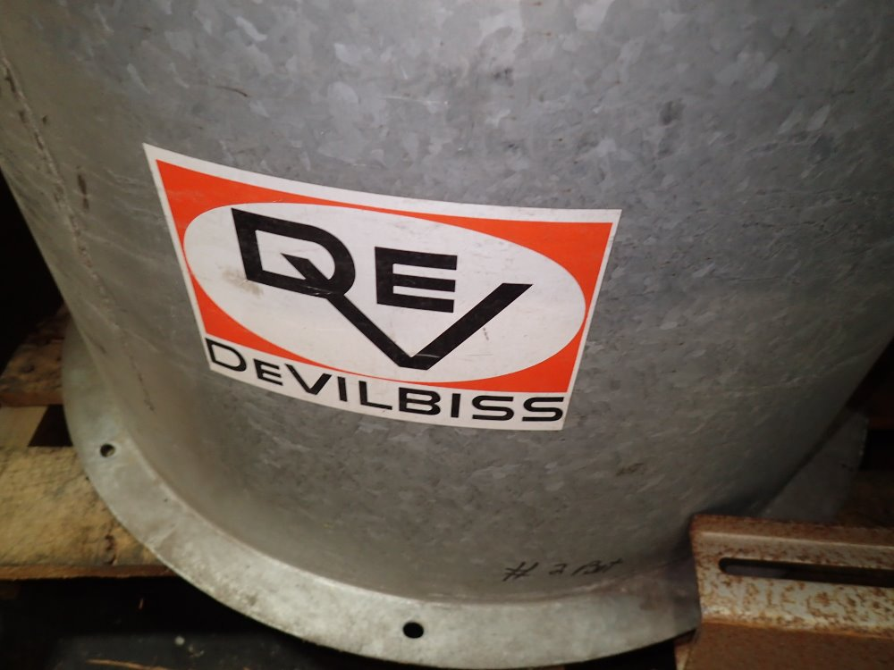 Devilbiss Paint Booth Exhaust Unit 3 4 Hp 06161240008 Ebay