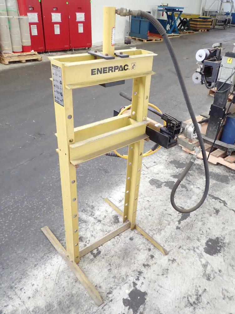 Used Enerpac H Frame Hydraulic Press Hgr Industrial Surplus