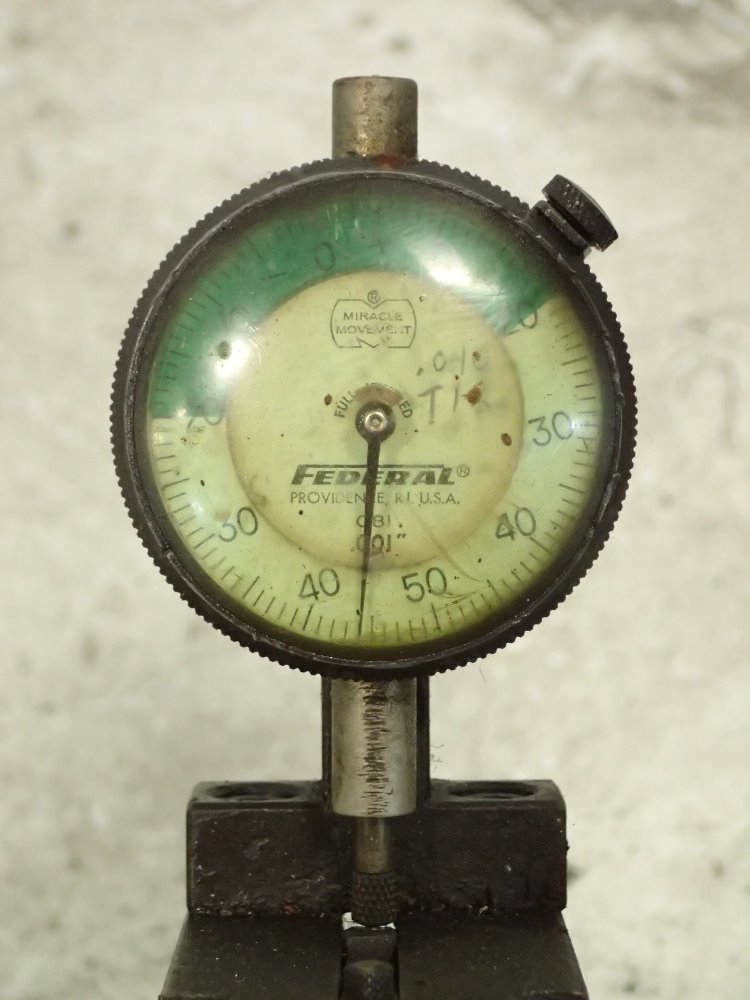 Federal Indicator Travel Products : Used federal indicator gauge unit hgr industrial surplus