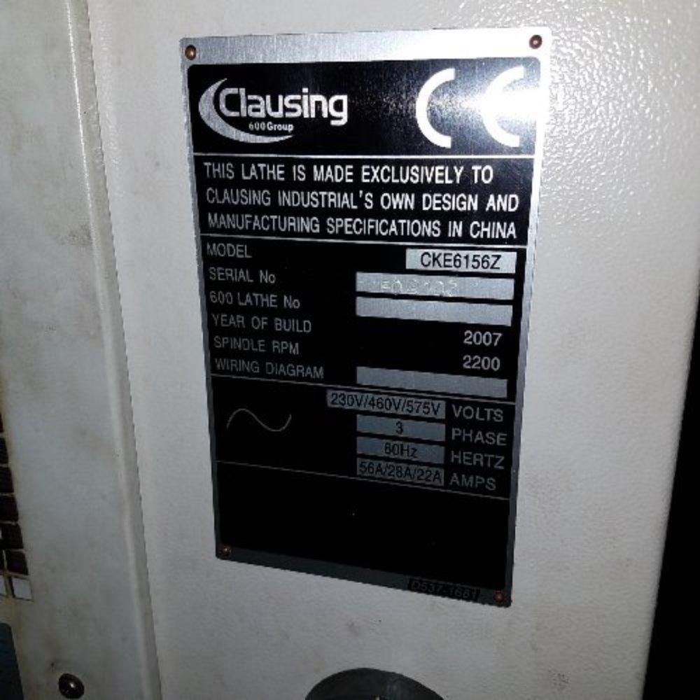 Clausing Cke5156z Flatbed Cnc Lathe 07180580001 Ebay 460v To 230v Wiring Diagram Photos For This Item