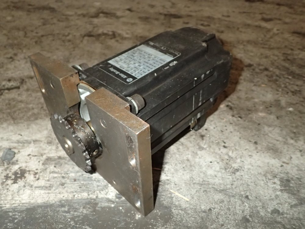 Used Allen Bradley Servo Motor Hgr Industrial Surplus