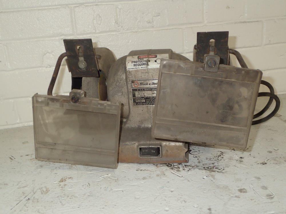 Used Black Decker Bench Grinder Hgr Industrial Surplus