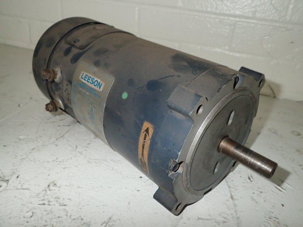 Used Leeson Dc Motor Hgr Industrial Surplus